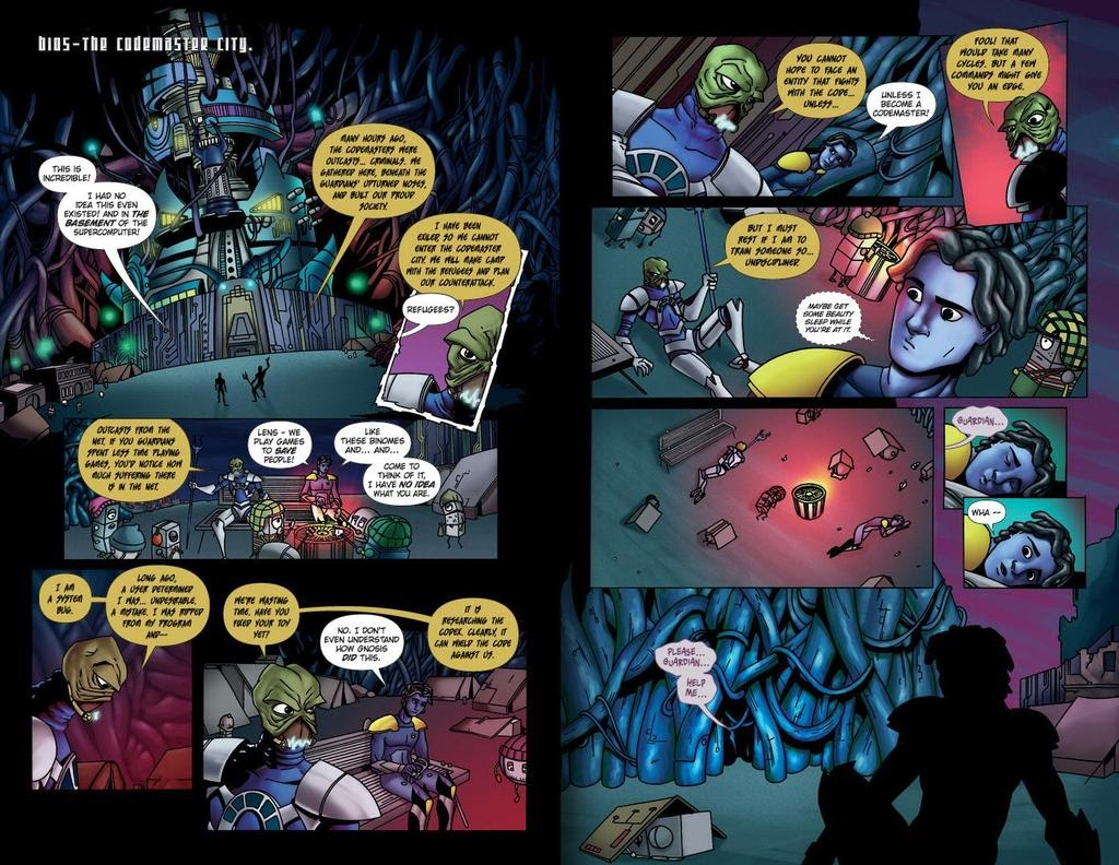 Read online ReBoot: Paradigms Lost comic -  Issue # Full - 22