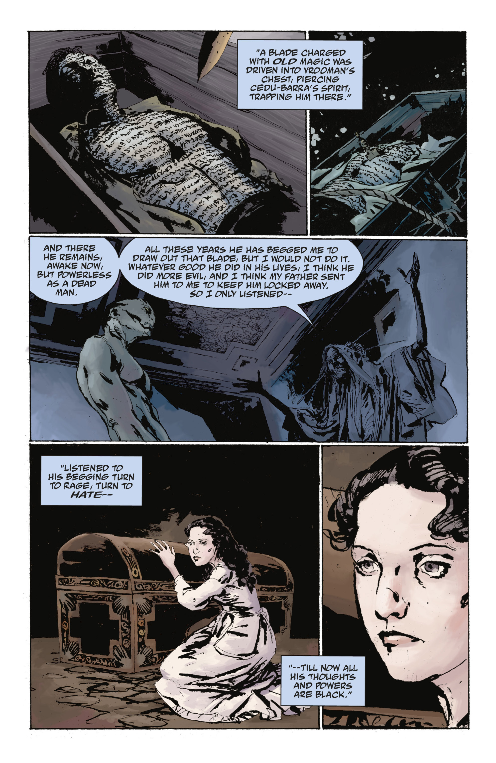 Read online Abe Sapien: The Drowning comic -  Issue #Abe Sapien: The Drowning _TPB - 105