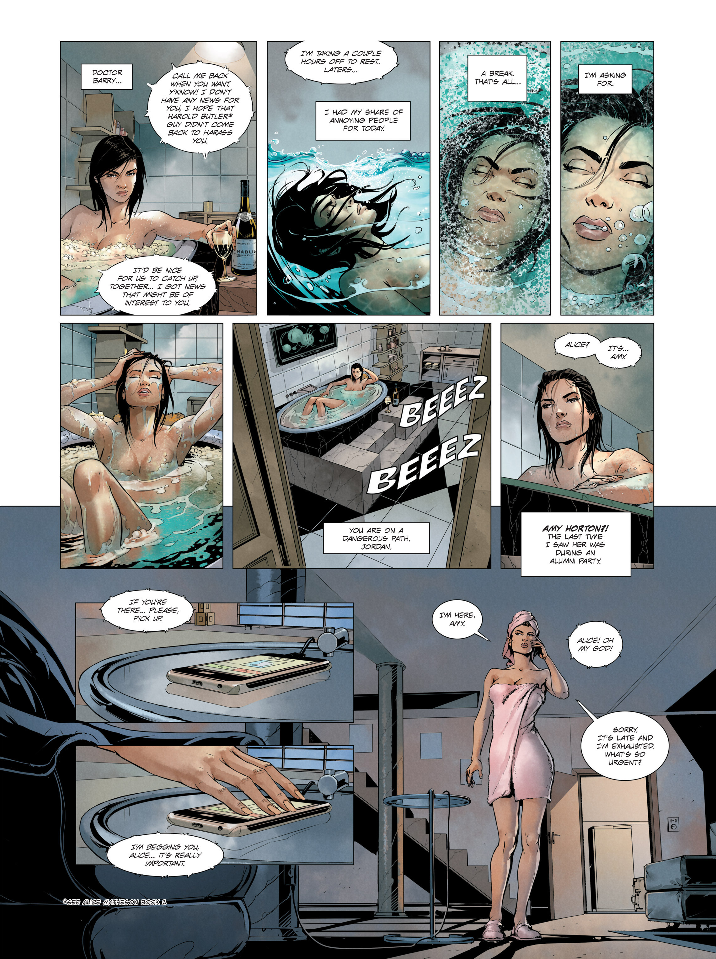Read online Alice Matheson comic -  Issue #3 - 19