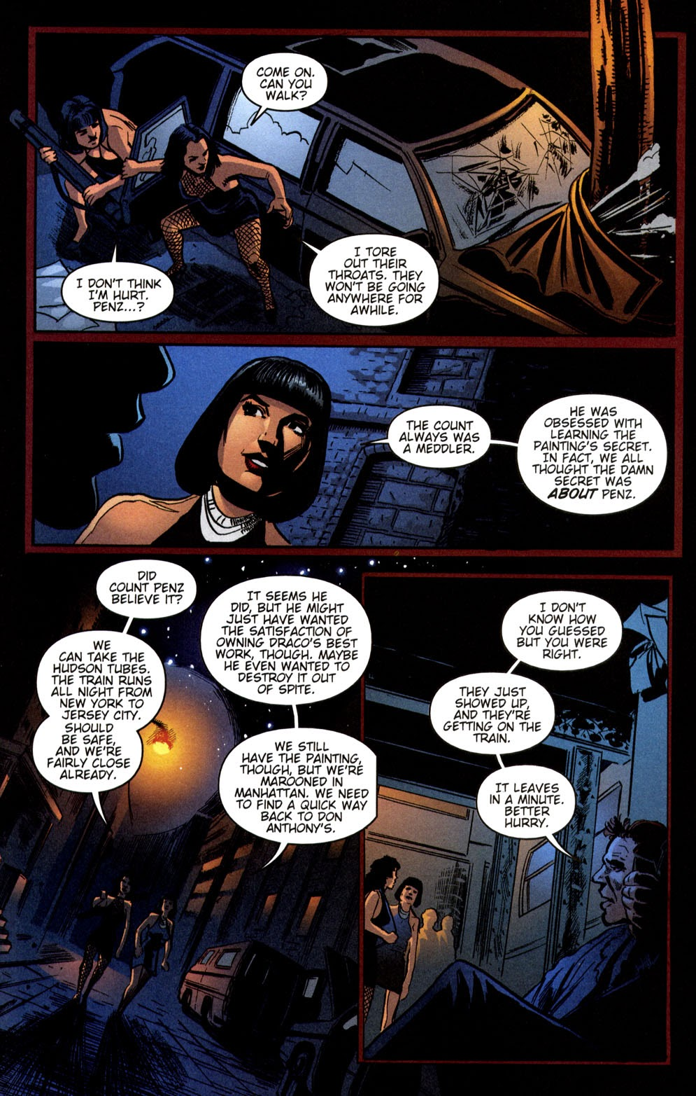 Read online Vampire the Masquerade comic -  Issue # Giovanni - 35