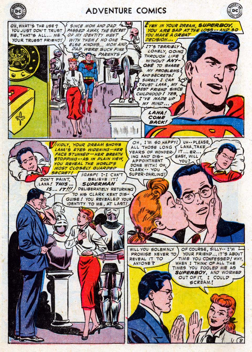 Read online Adventure Comics (1938) comic -  Issue #211 - 10