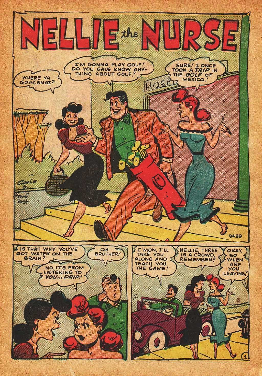 Read online Nellie The Nurse (1945) comic -  Issue #32 - 30