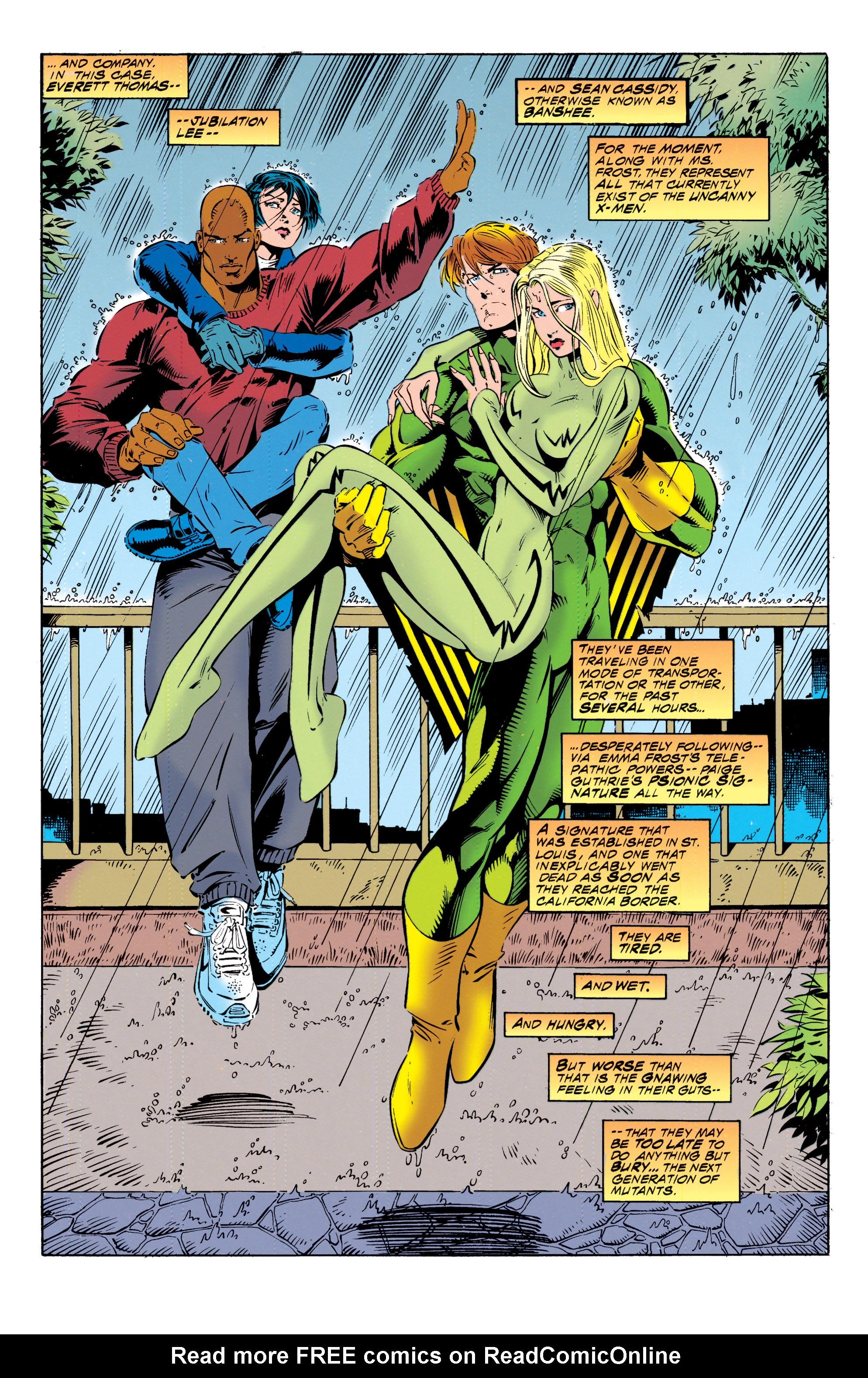 Read online Uncanny X-Men (1963) comic -  Issue #317 - 8