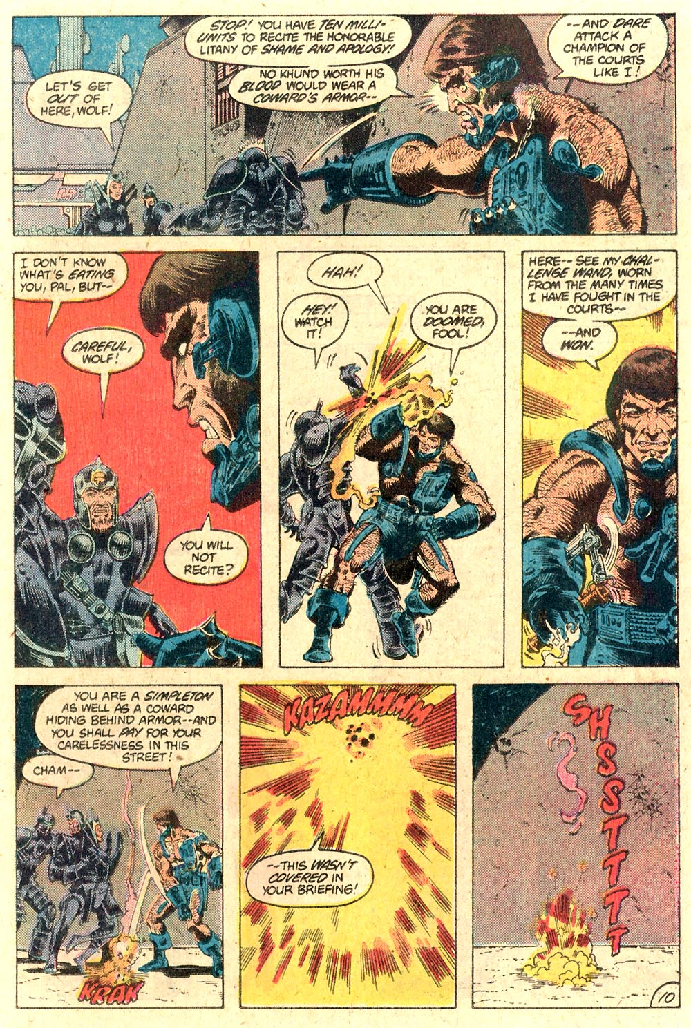Legion of Super-Heroes (1980) 287 Page 10