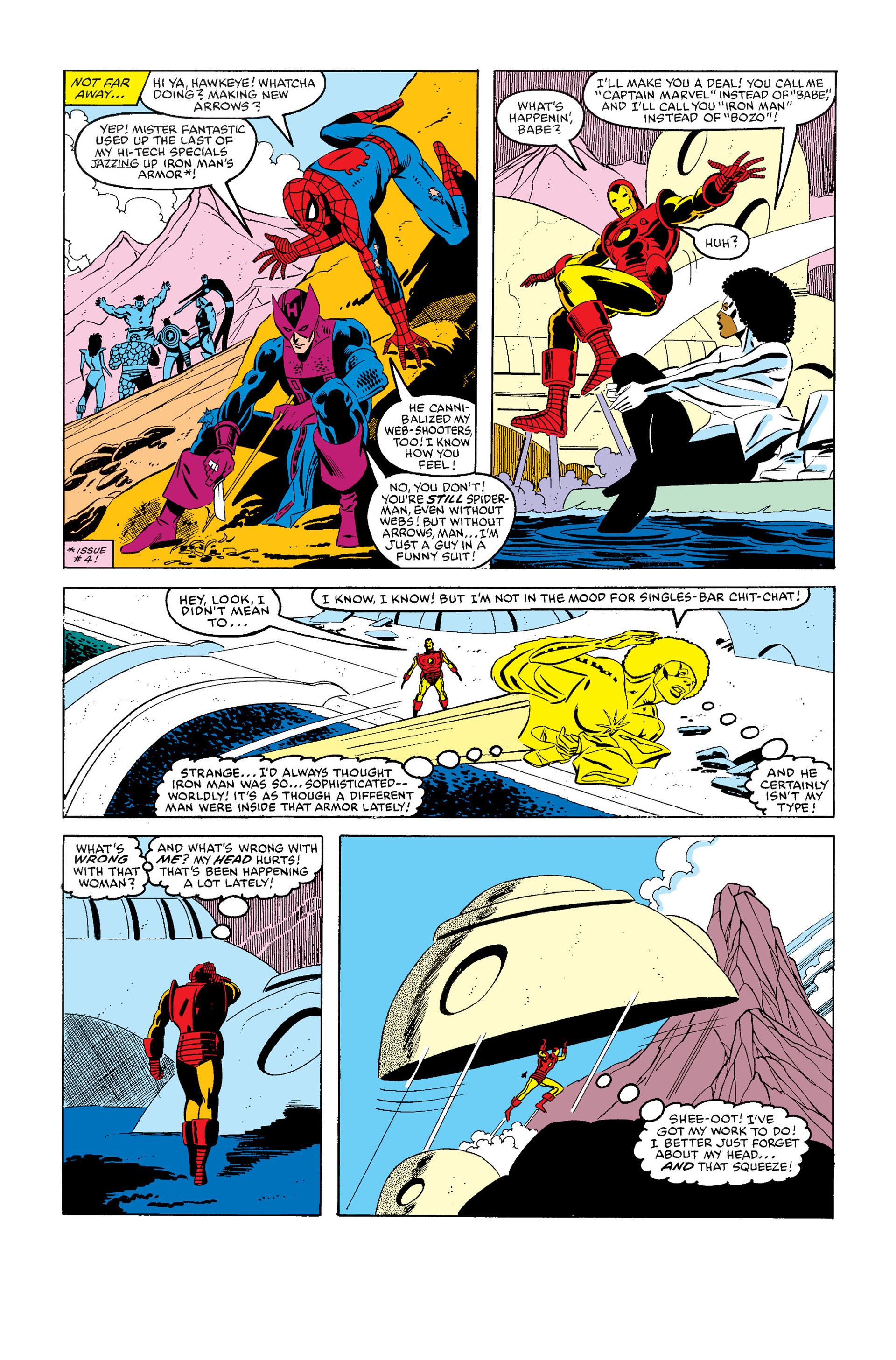 Read online Secret Wars (1985) comic -  Issue #6 - 17