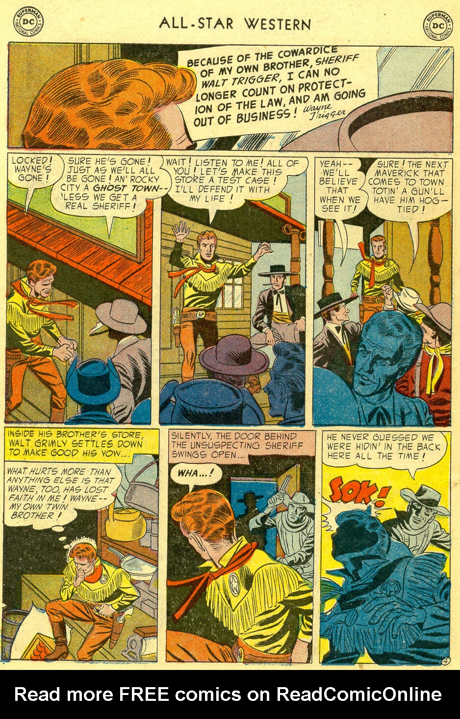 Read online All-Star Western (1951) comic -  Issue #78 - 6