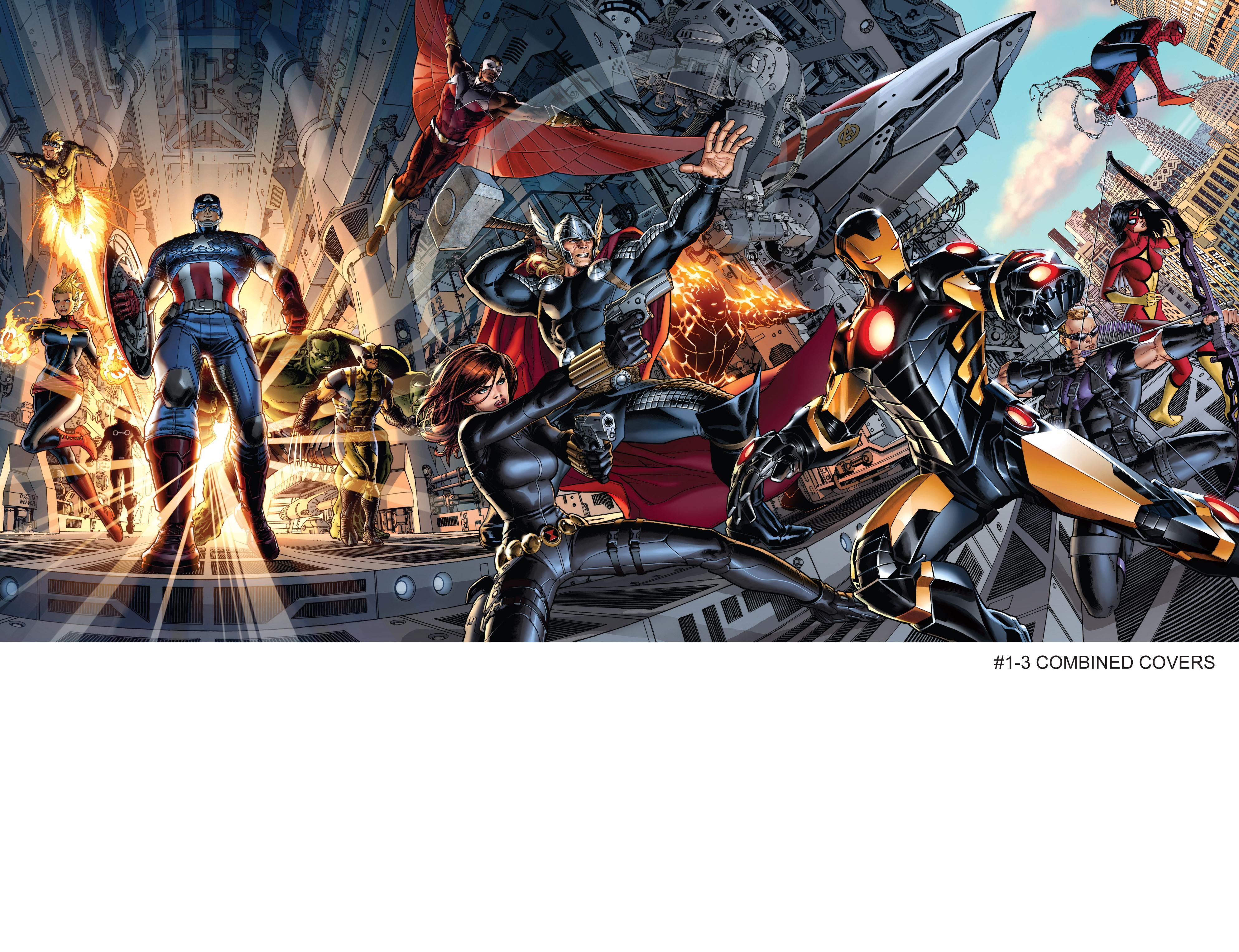 Read online Avengers (2013) comic -  Issue #Avengers (2013) _TPB 1 - 159