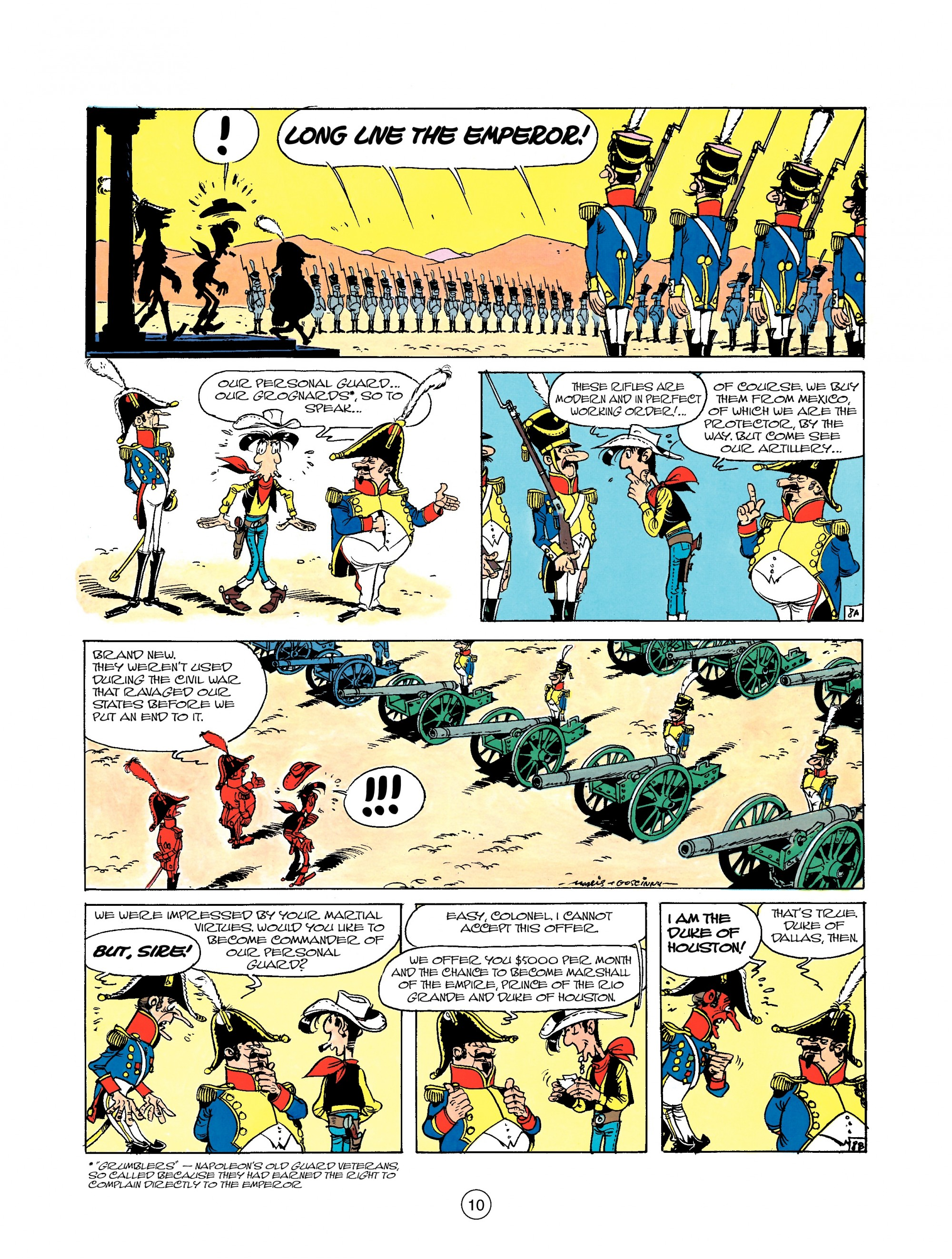 Read online A Lucky Luke Adventure comic -  Issue #22 - 10