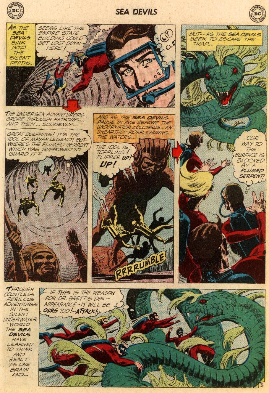 Read online Sea Devils comic -  Issue #5 - 31