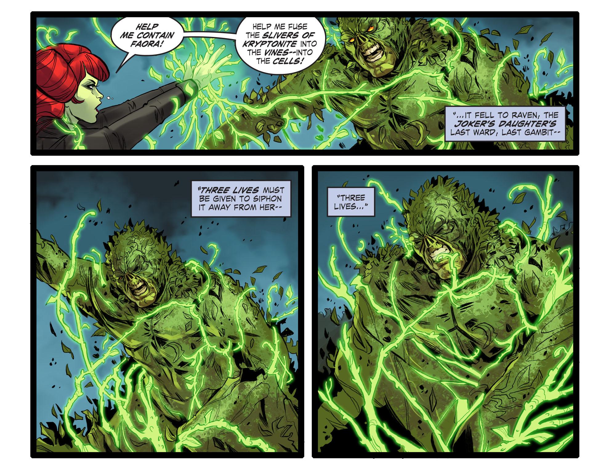 Read online DC Comics: Bombshells comic -  Issue #99 - 19
