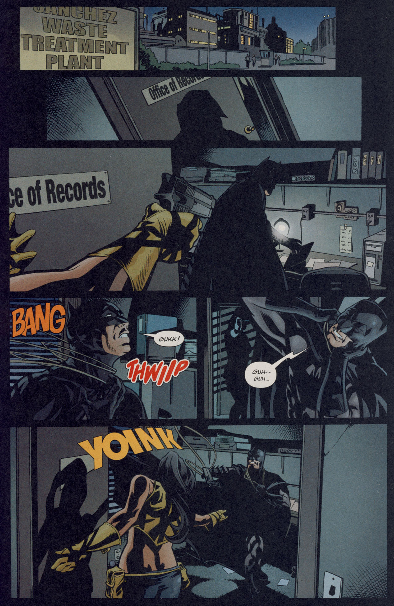 Read online Batman War Drums comic -  Issue # TPB - 114