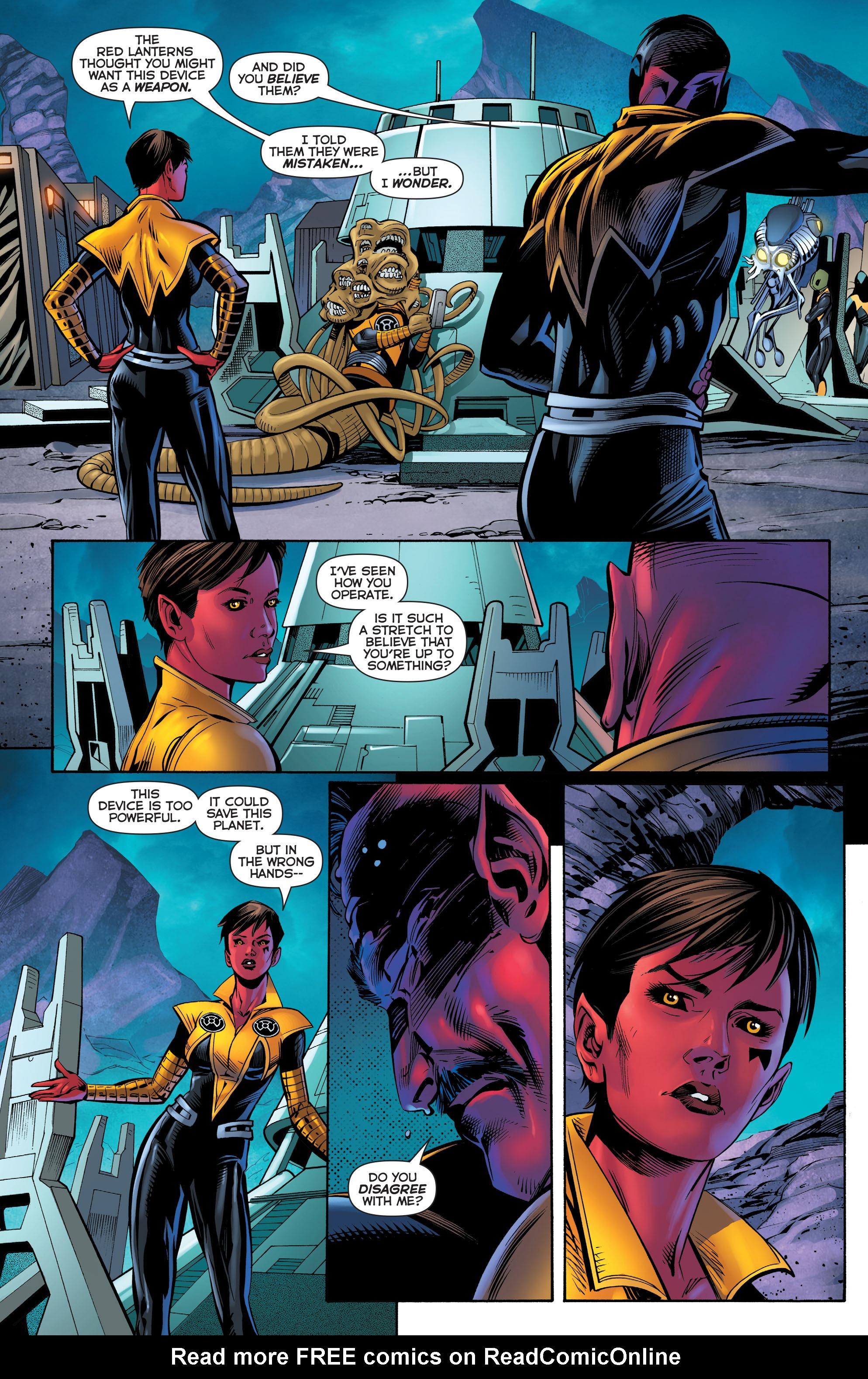 Read online Sinestro comic -  Issue #23 - 11