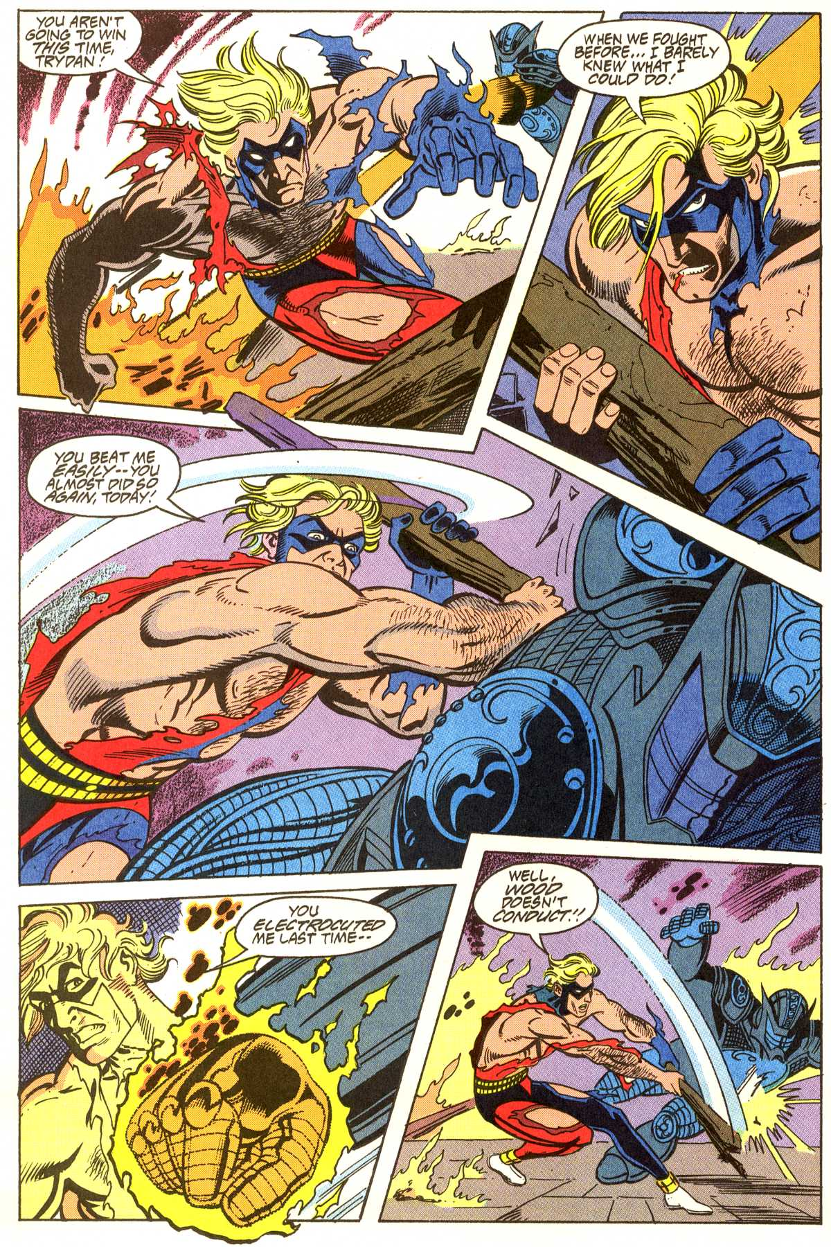 Read online Peter Cannon--Thunderbolt (1992) comic -  Issue #11 - 11
