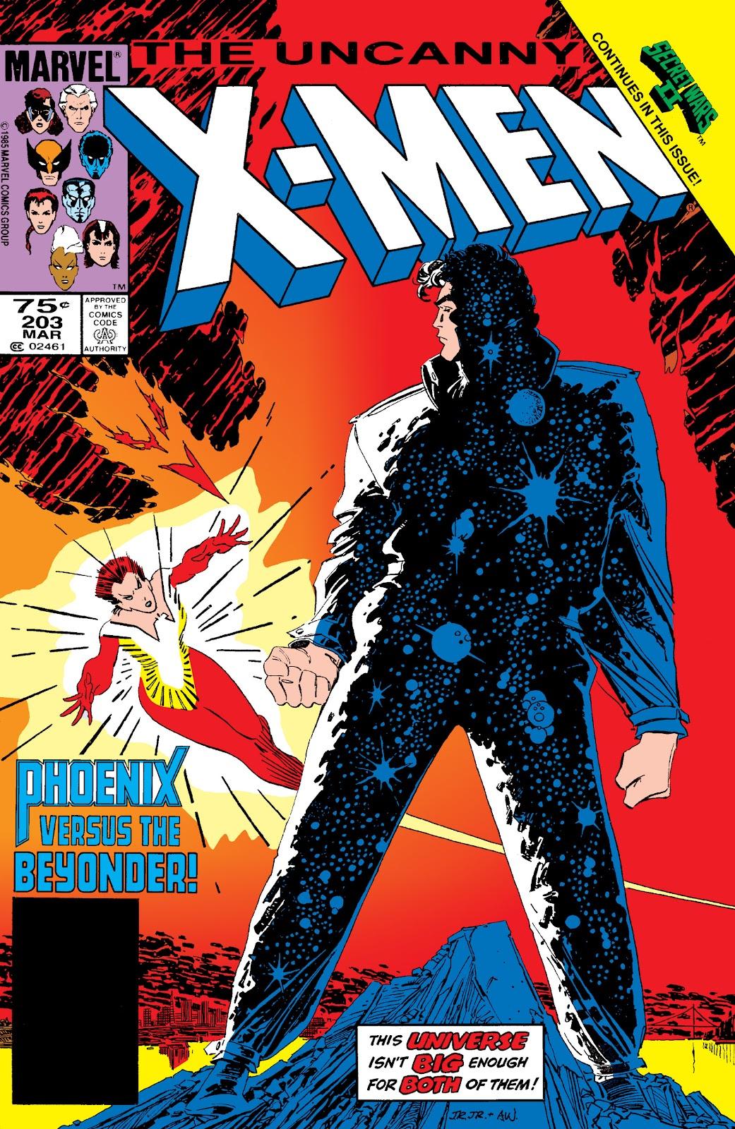 Uncanny X-Men (1963) issue 203 - Page 1