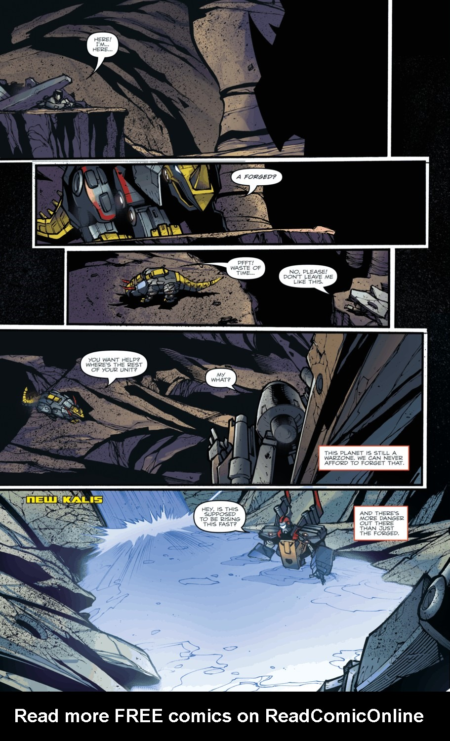 Read online Transformers Prime: Beast Hunters comic -  Issue #5 - 17