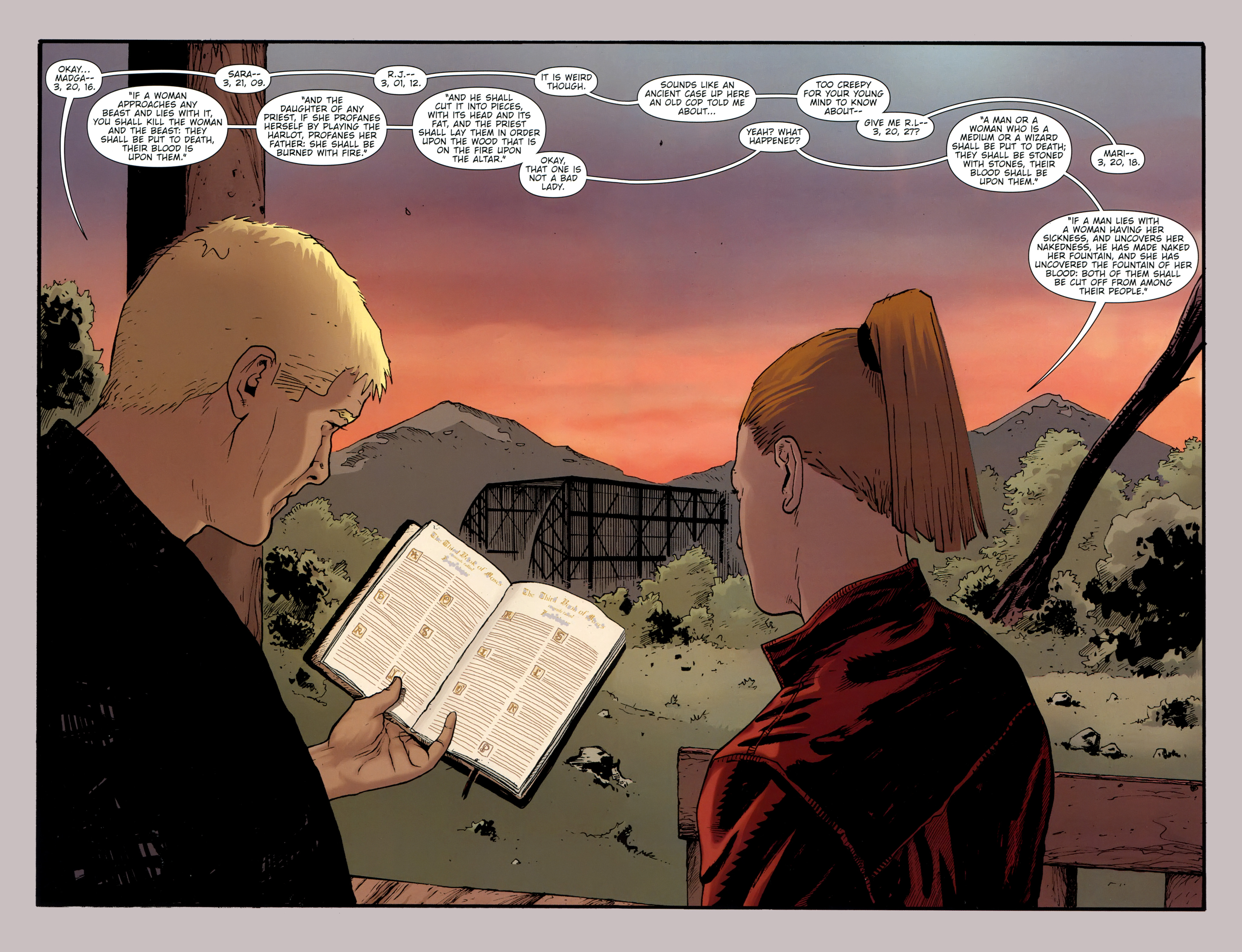 Read online The Girl With the Dragon Tattoo comic -  Issue # TPB 2 - 33