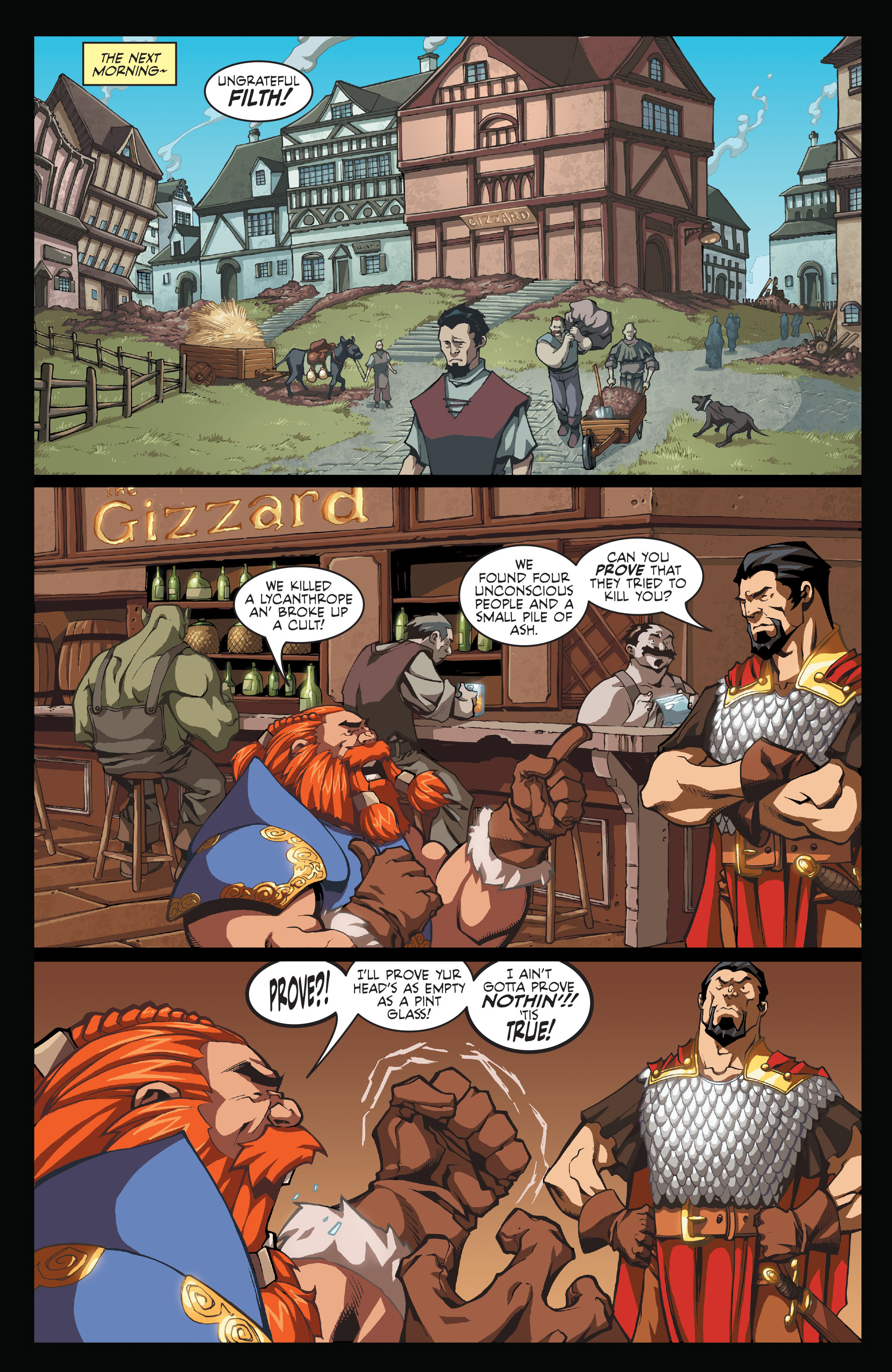 Read online Skullkickers comic -  Issue #1 - 8