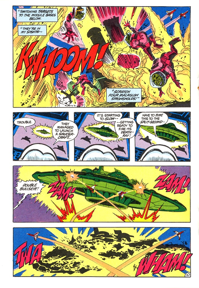 Read online Atari Force (1982) comic -  Issue #4 - 12