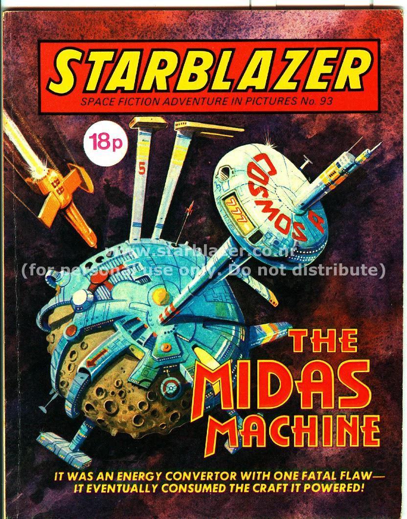 Starblazer issue 93 - Page 1