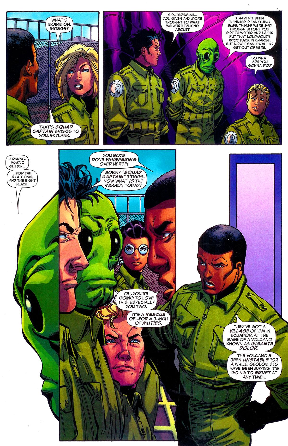 Read online Sentinel Squad O*N*E comic -  Issue #5 - 6