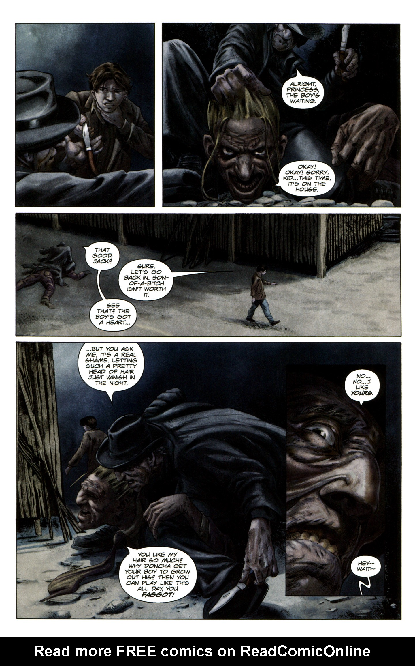 Read online Severed comic -  Issue #5 - 19