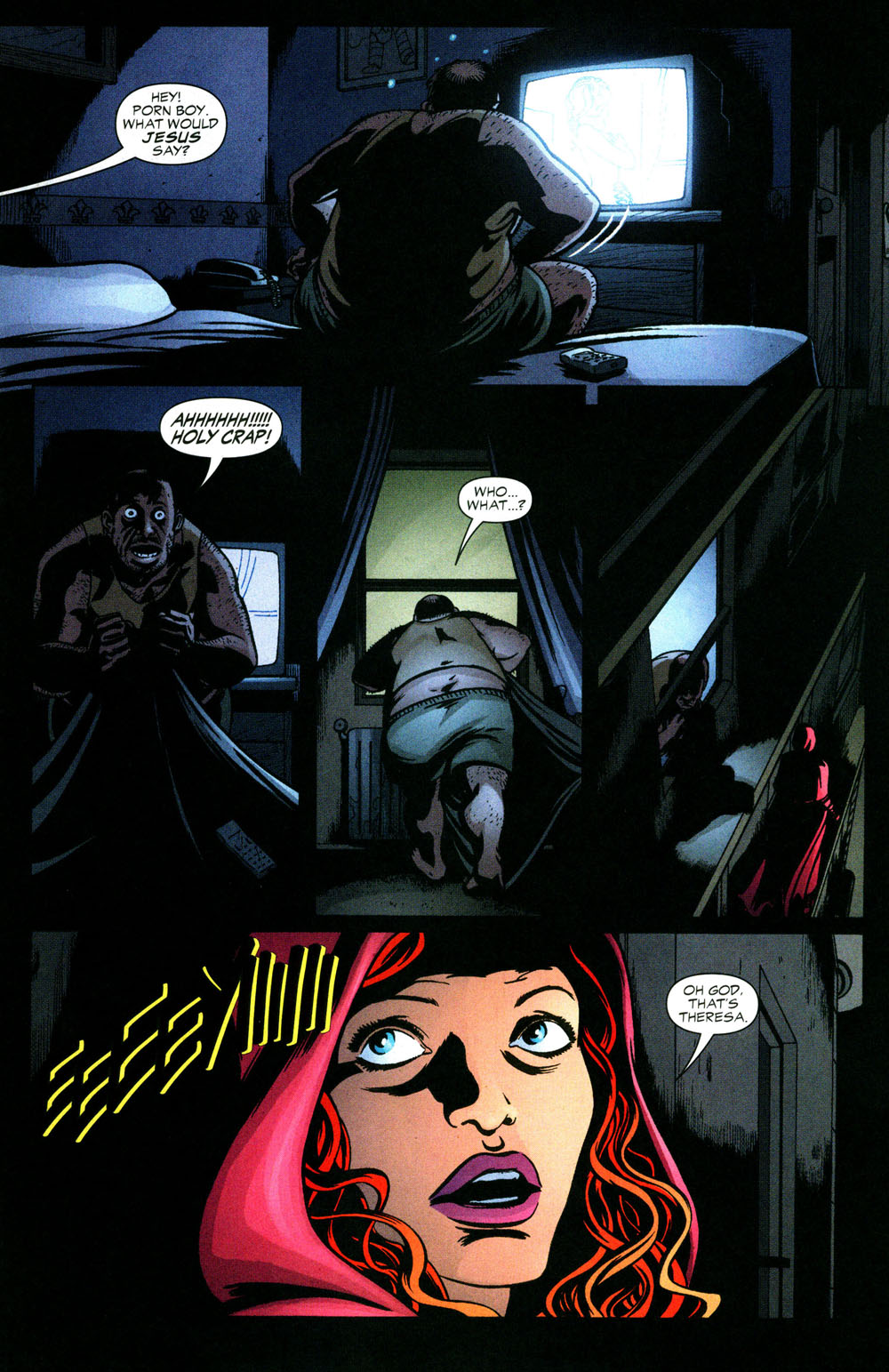 Read online Fallen Angel (2003) comic -  Issue #3 - 16