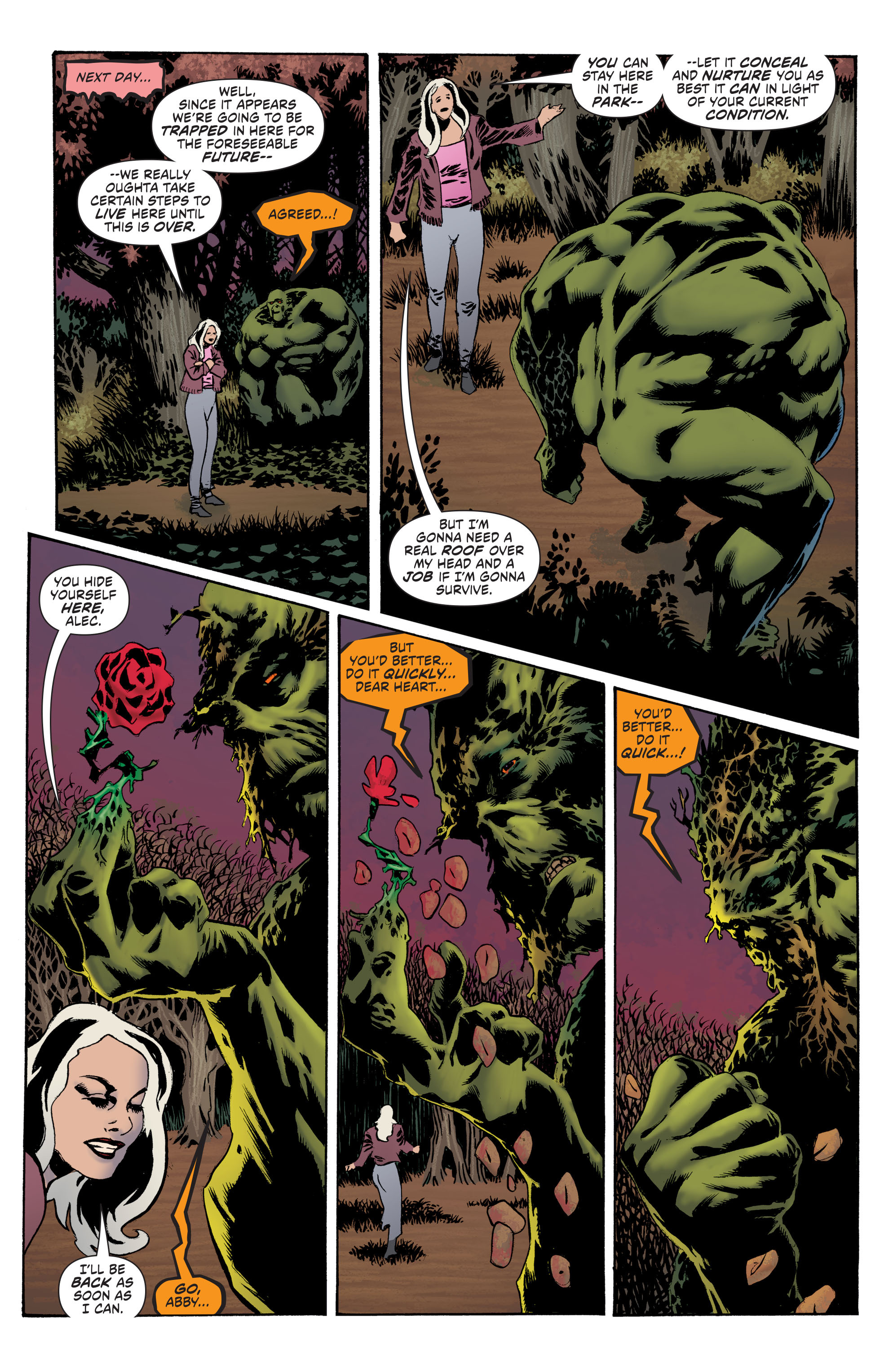 Read online Convergence Swamp Thing comic -  Issue #1 - 14
