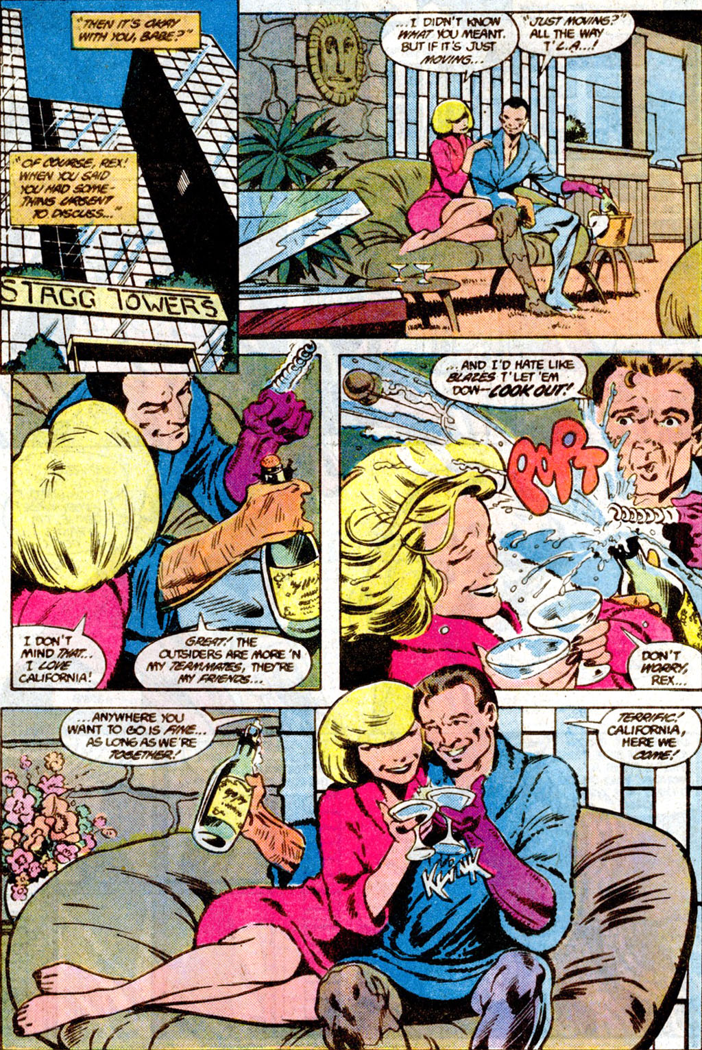 Read online Adventures of the Outsiders comic -  Issue #36 - 17