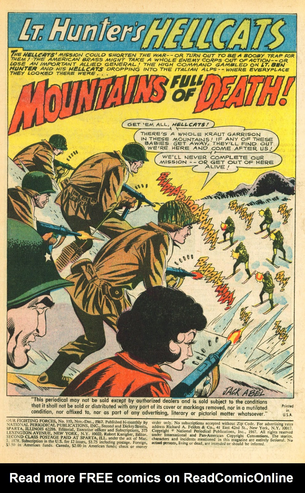 Our Fighting Forces (1954) issue 110 - Page 3