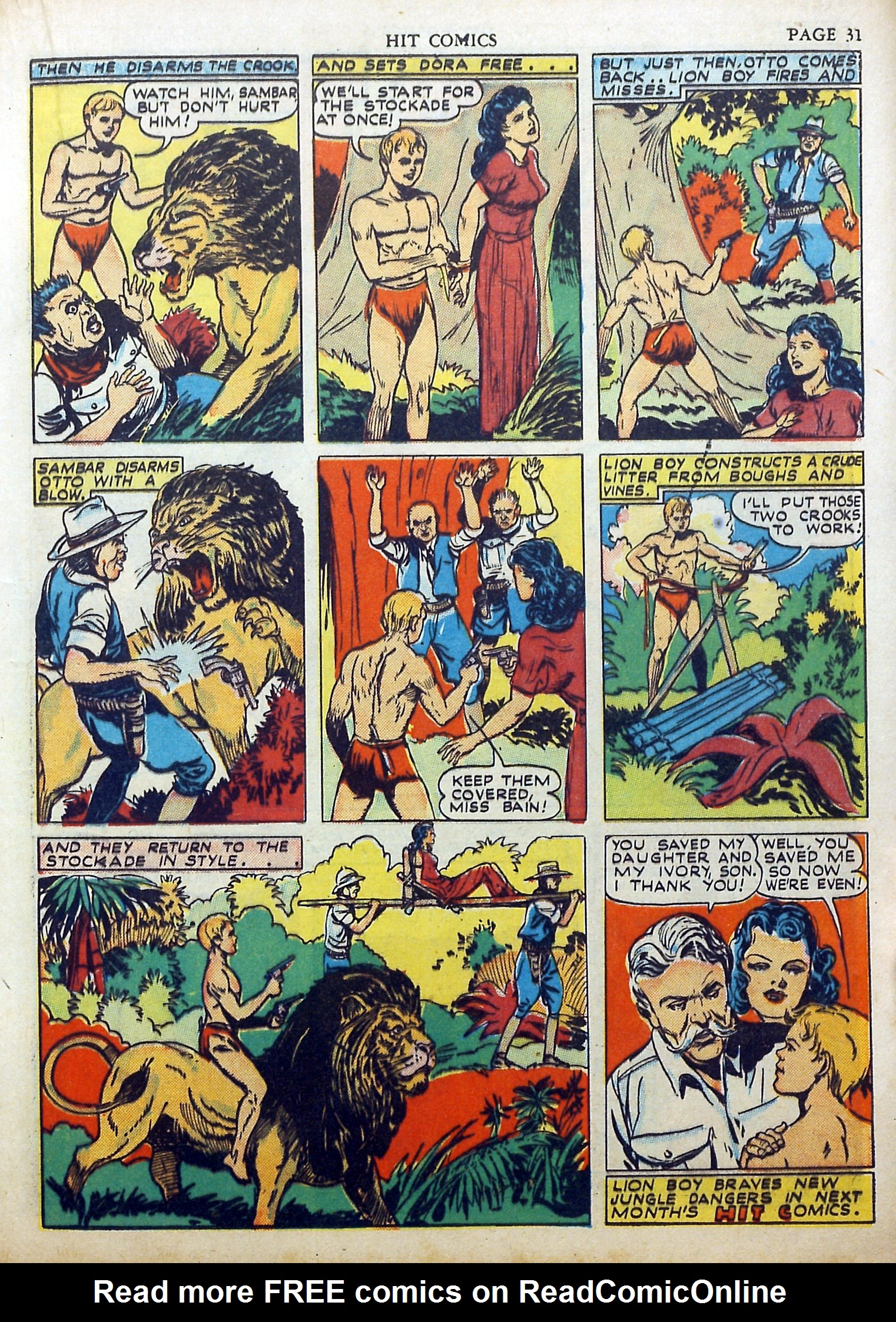 Read online Hit Comics comic -  Issue #17 - 33