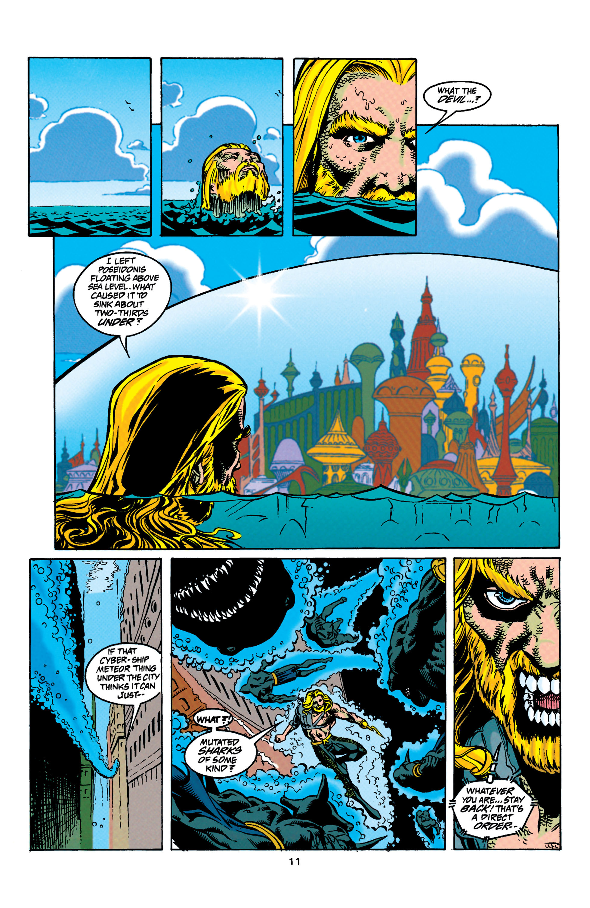 Read online Aquaman (1994) comic -  Issue #31 - 12