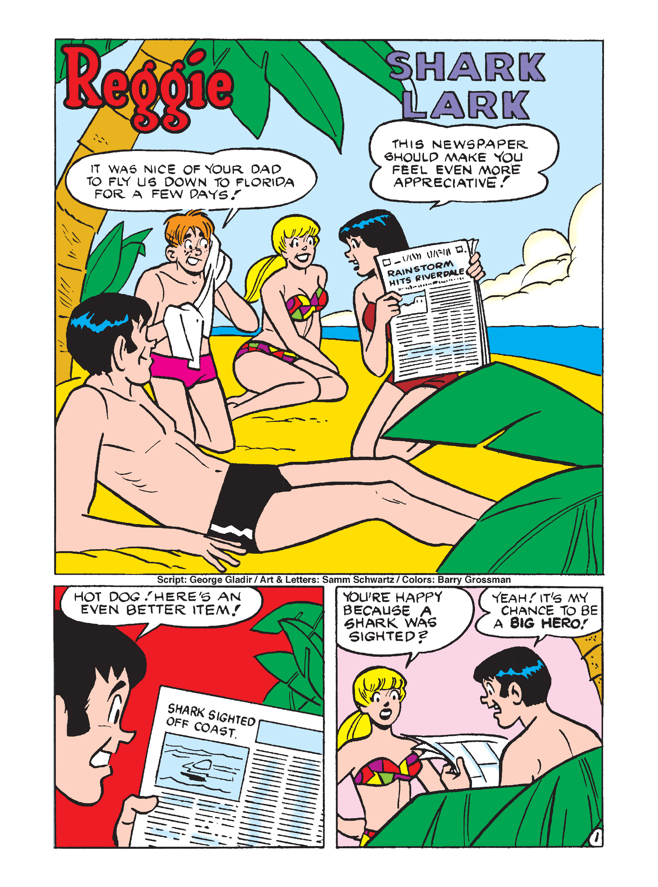 Read online Archie's Funhouse Double Digest comic -  Issue #7 - 90