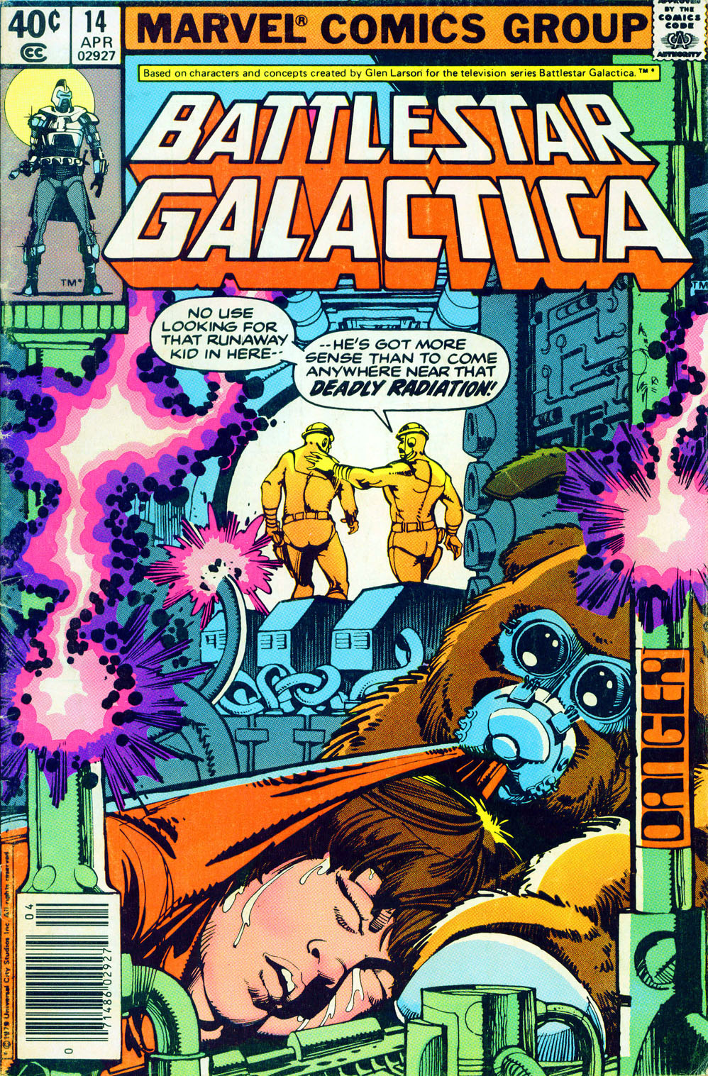 Battlestar Galactica 14 Page 1