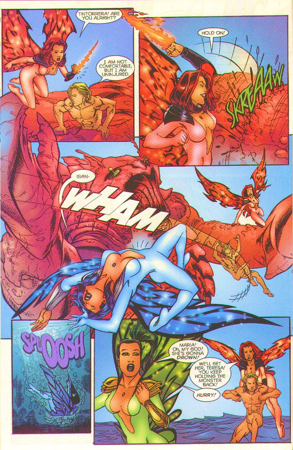 Read online Trinity Angels comic -  Issue #8 - 20