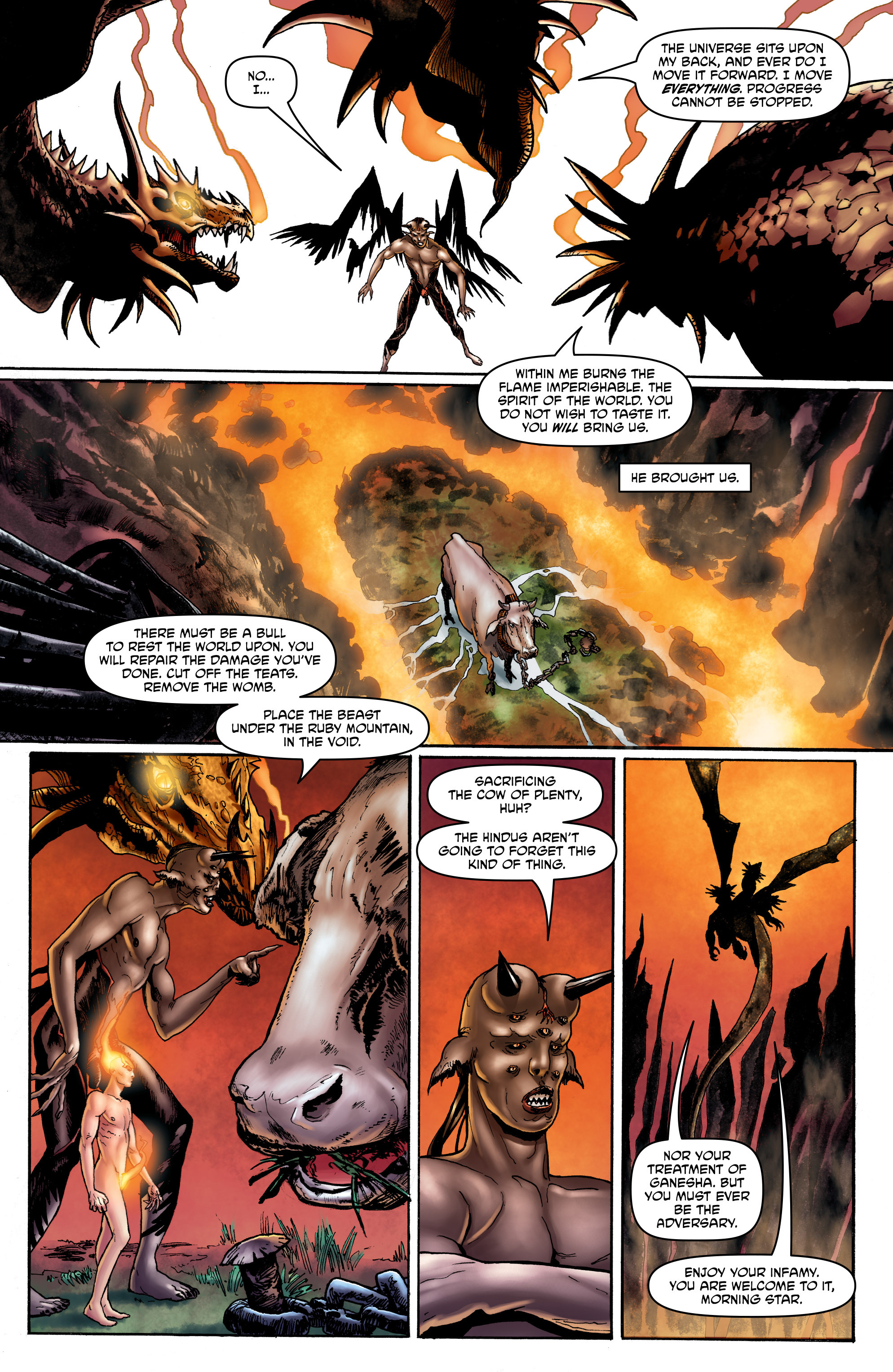 Read online God is Dead: Book of Acts comic -  Issue # Omega - 23