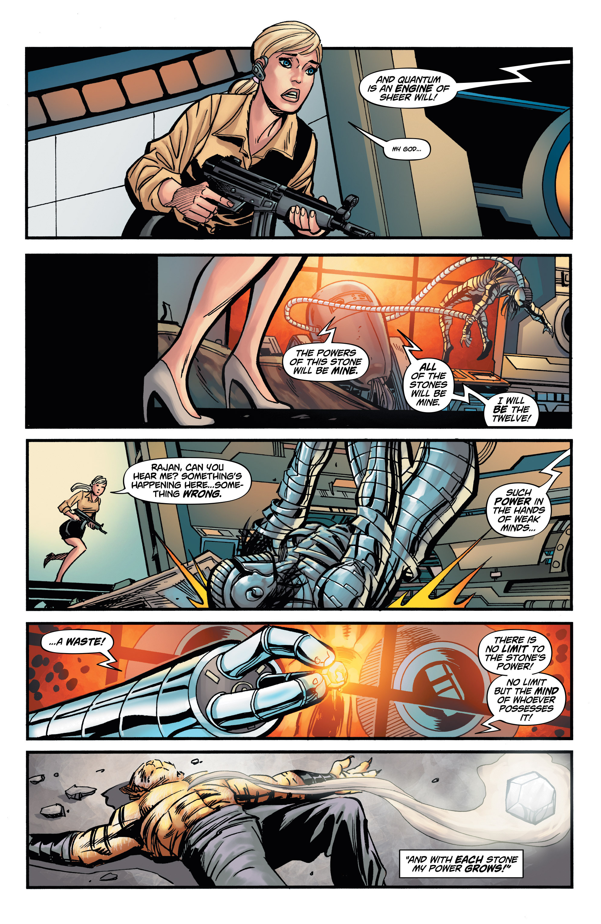 Read online Shadow Tiger comic -  Issue #4 - 15