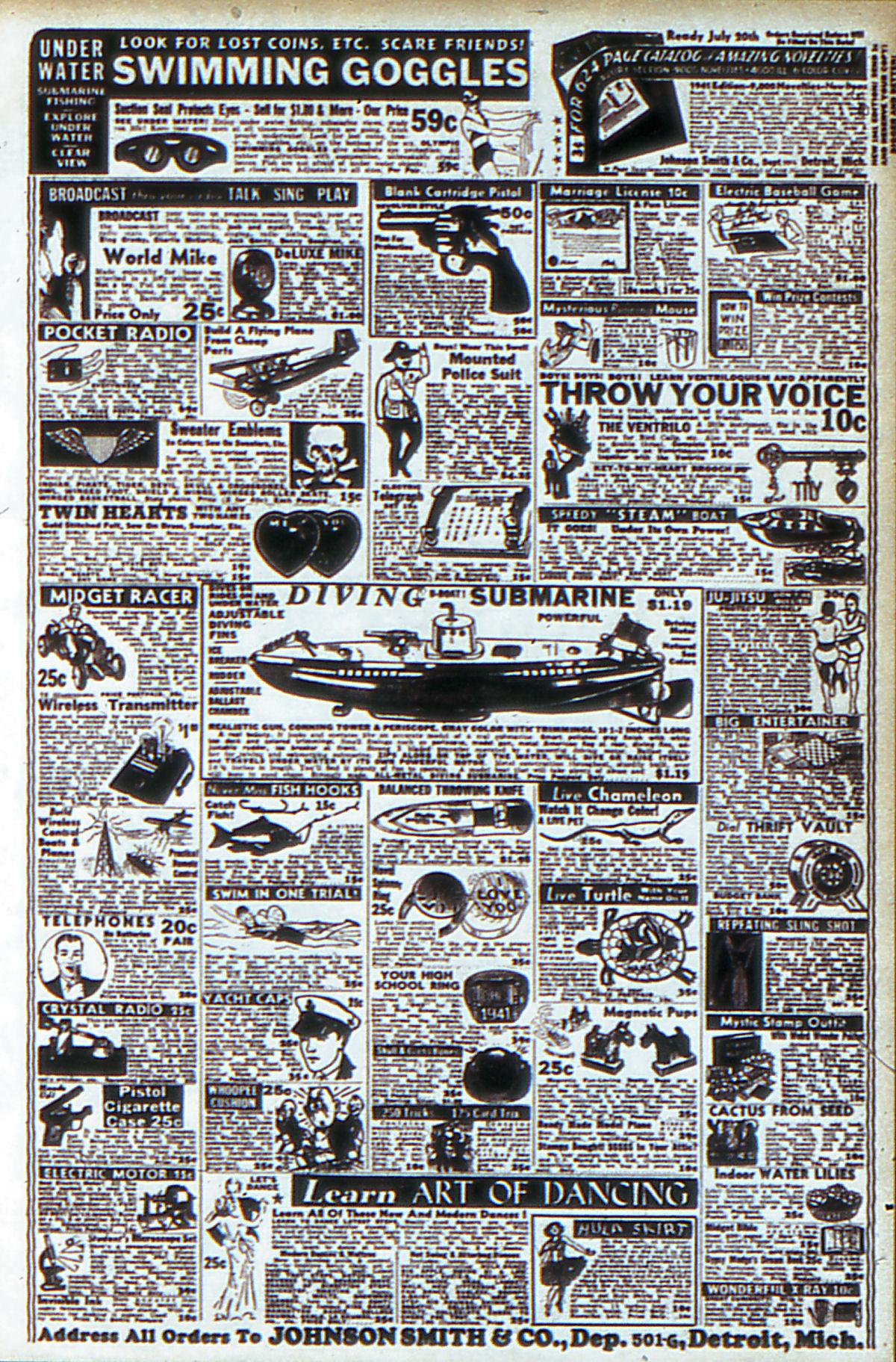 Read online Adventure Comics (1938) comic -  Issue #53 - 68