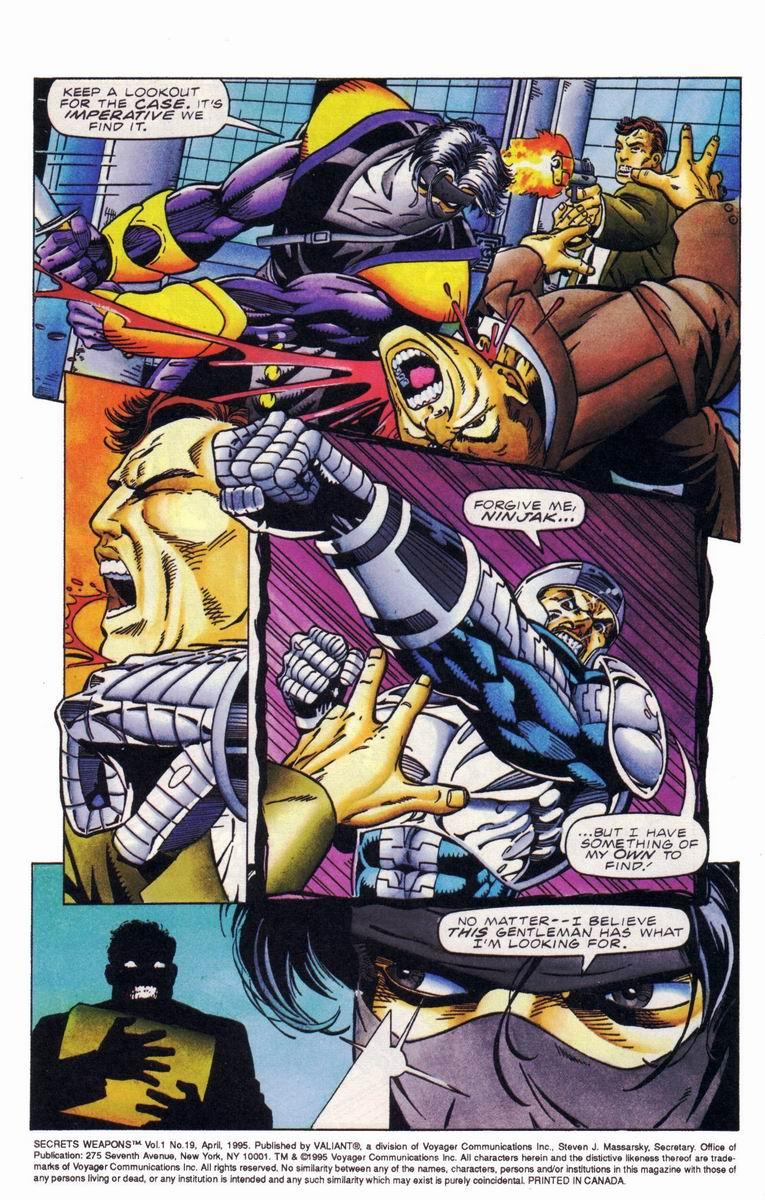 Read online Secret Weapons comic -  Issue #19 - 5