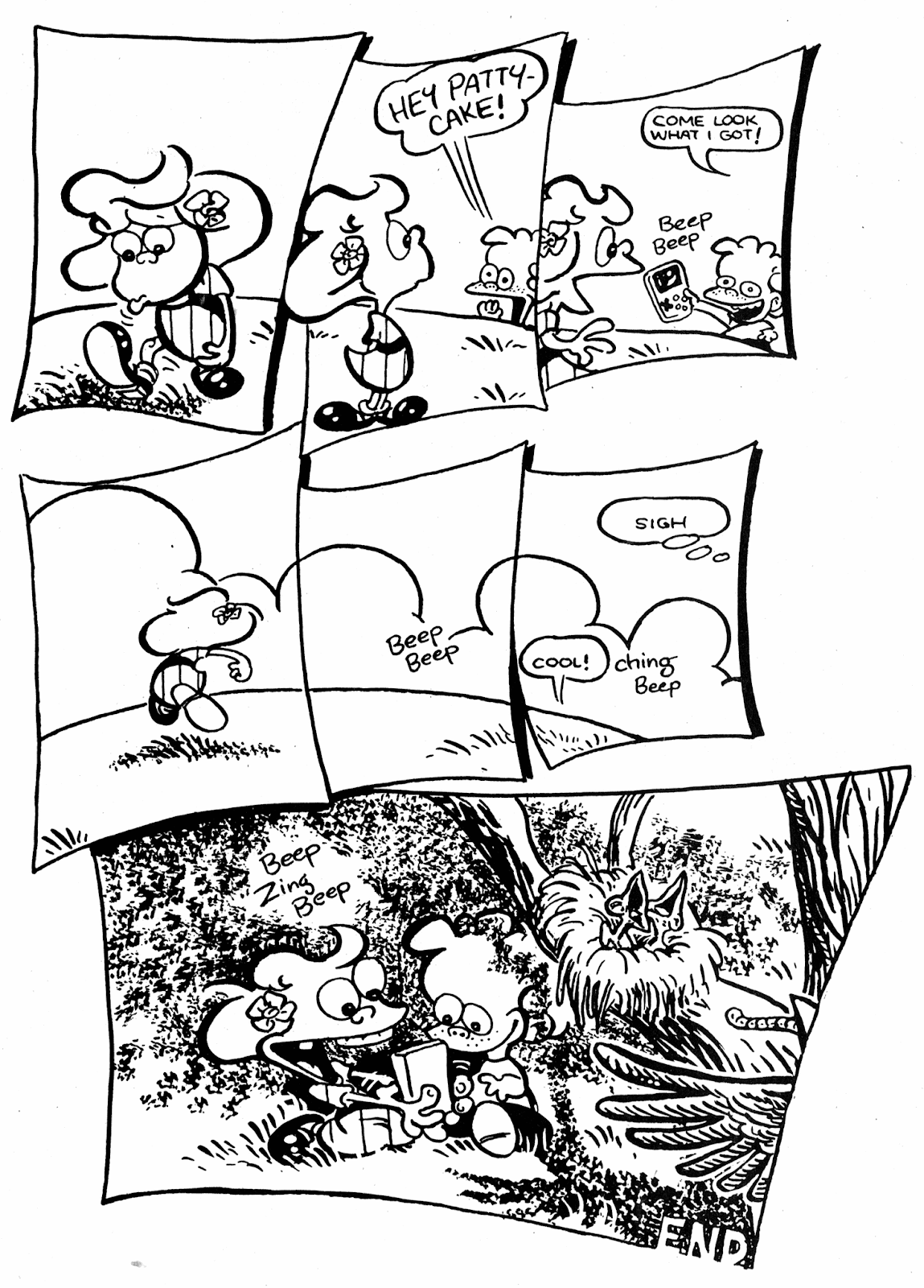 Read online Patty Cake comic -  Issue #4 - 30