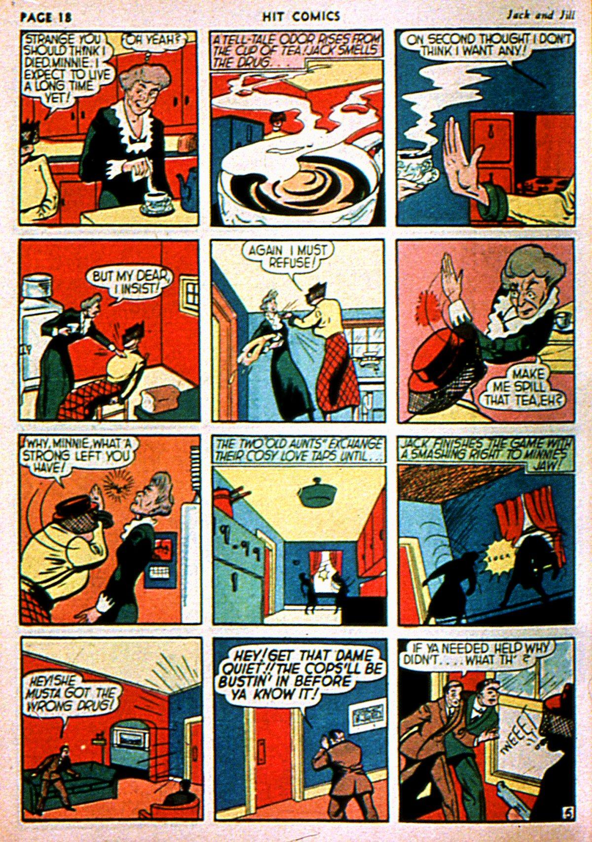 Read online Hit Comics comic -  Issue #3 - 20