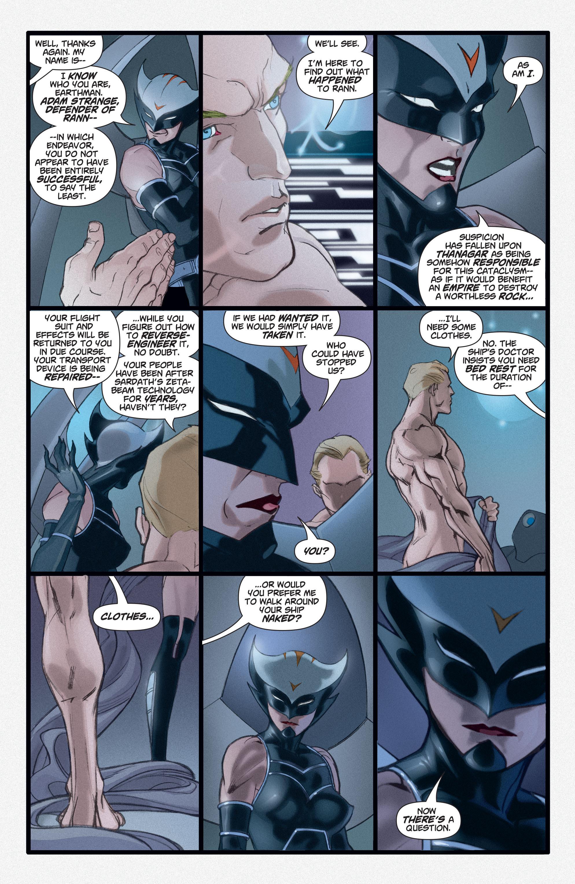 Read online Adam Strange (2004) comic -  Issue #3 - 8