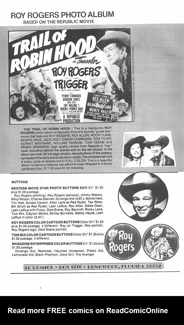 Read online Roy Rogers comic -  Issue #4 - 38