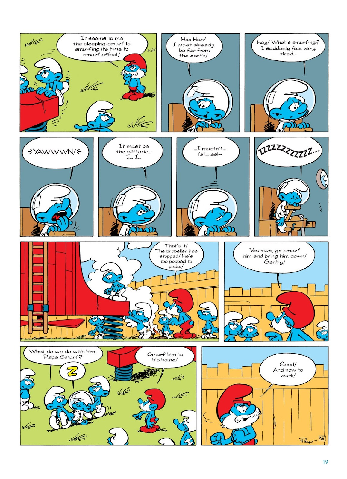 Read online The Smurfs comic -  Issue #7 - 19