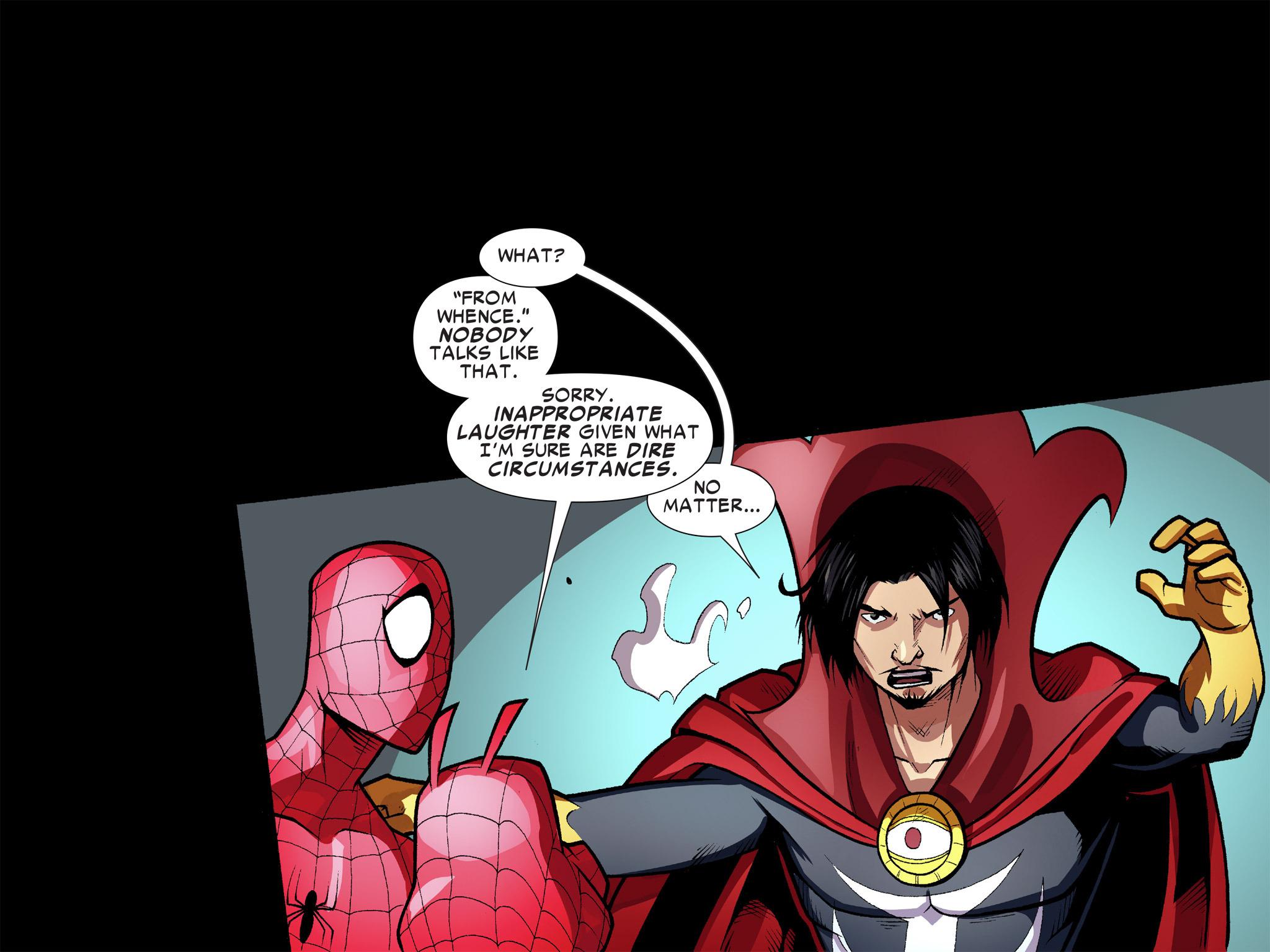 Read online Ultimate Spider-Man (Infinite Comics) (2016) comic -  Issue #9 - 30