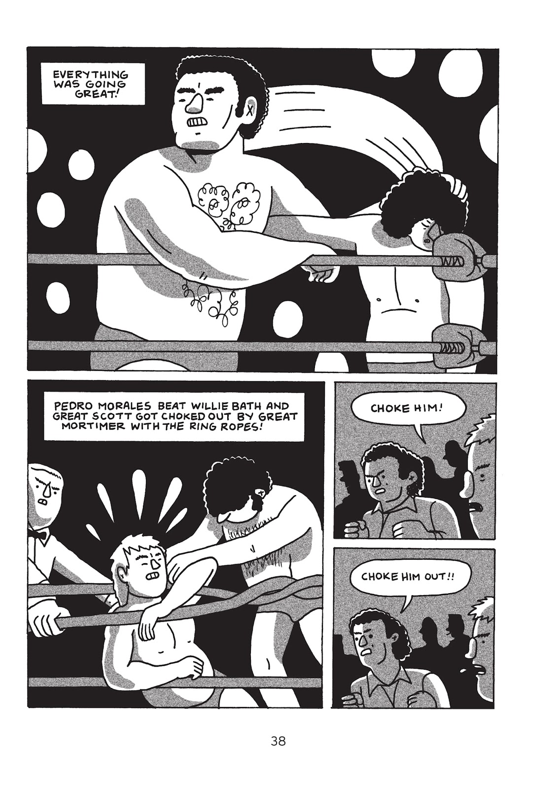 Read online Is This Guy For Real?: The Unbelievable Andy Kaufman comic -  Issue # TPB (Part 1) - 43