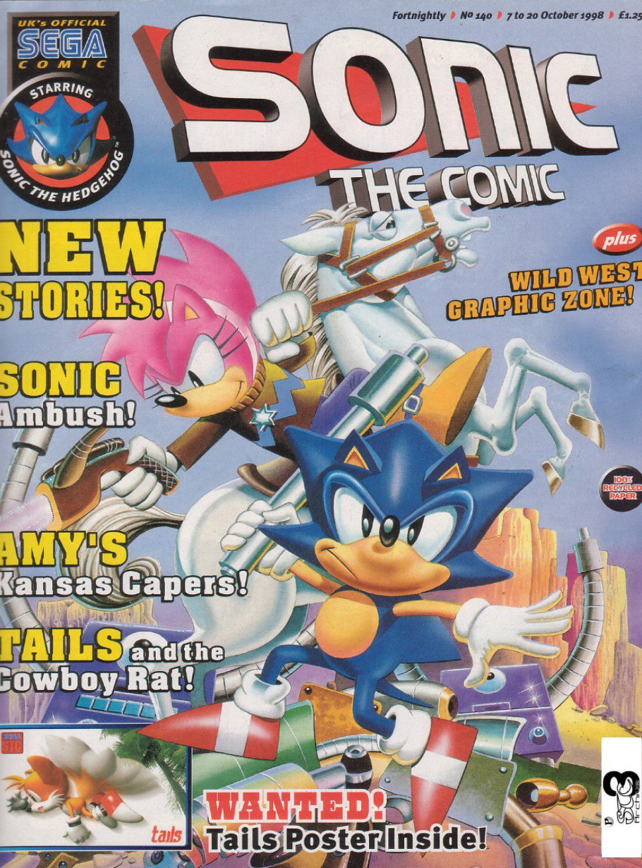 Read online Sonic the Comic comic -  Issue #140 - 1