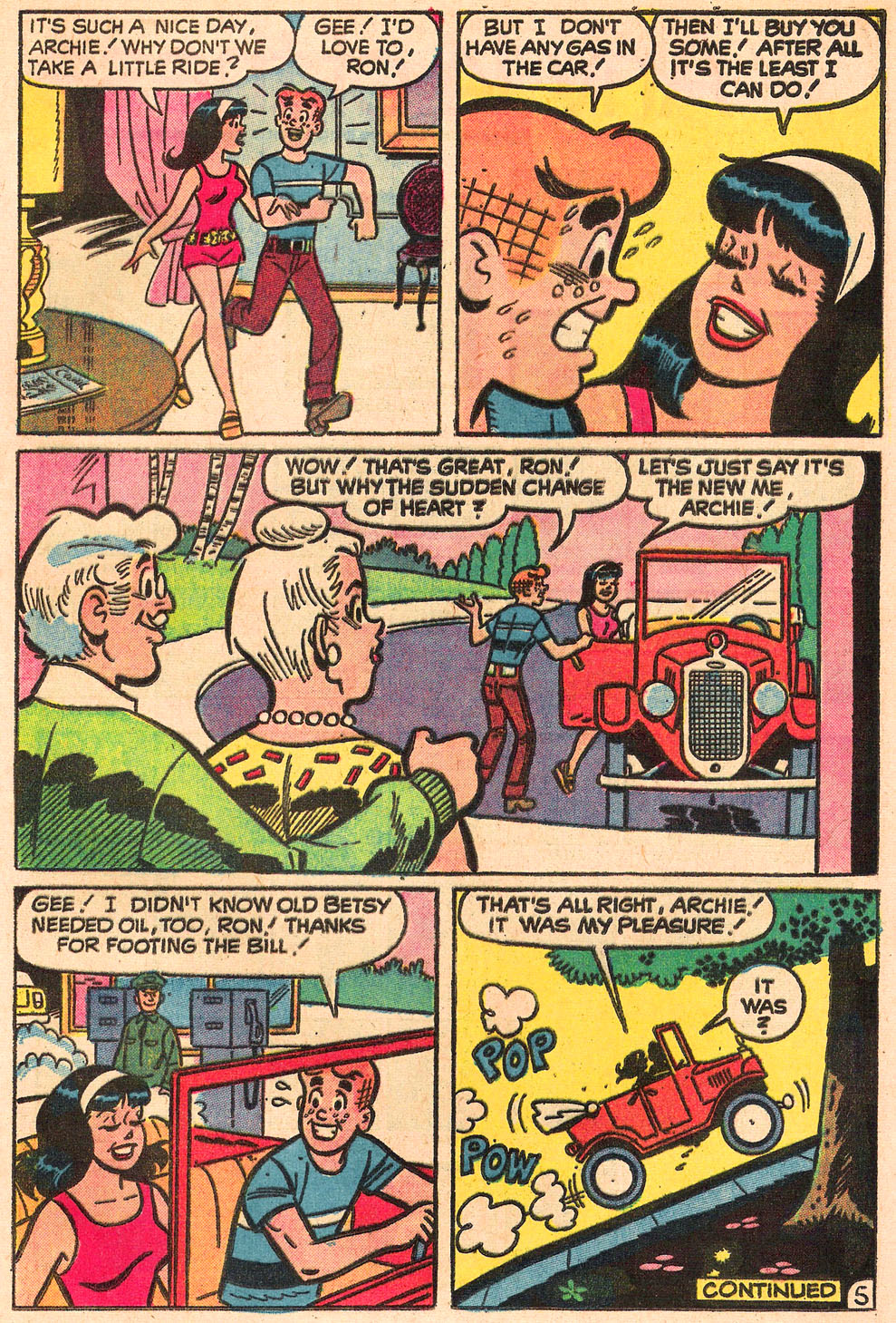 Read online Archie's Girls Betty and Veronica comic -  Issue #205 - 17