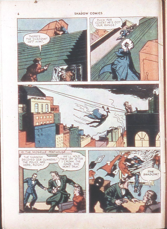 Read online Shadow Comics comic -  Issue #6 - 8