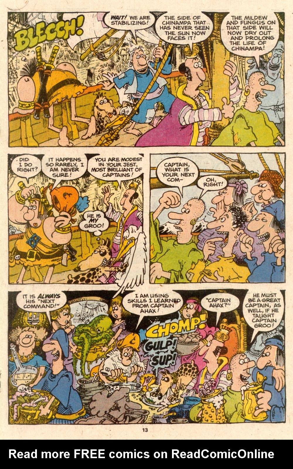 Read online Sergio Aragonés Groo the Wanderer comic -  Issue #57 - 13