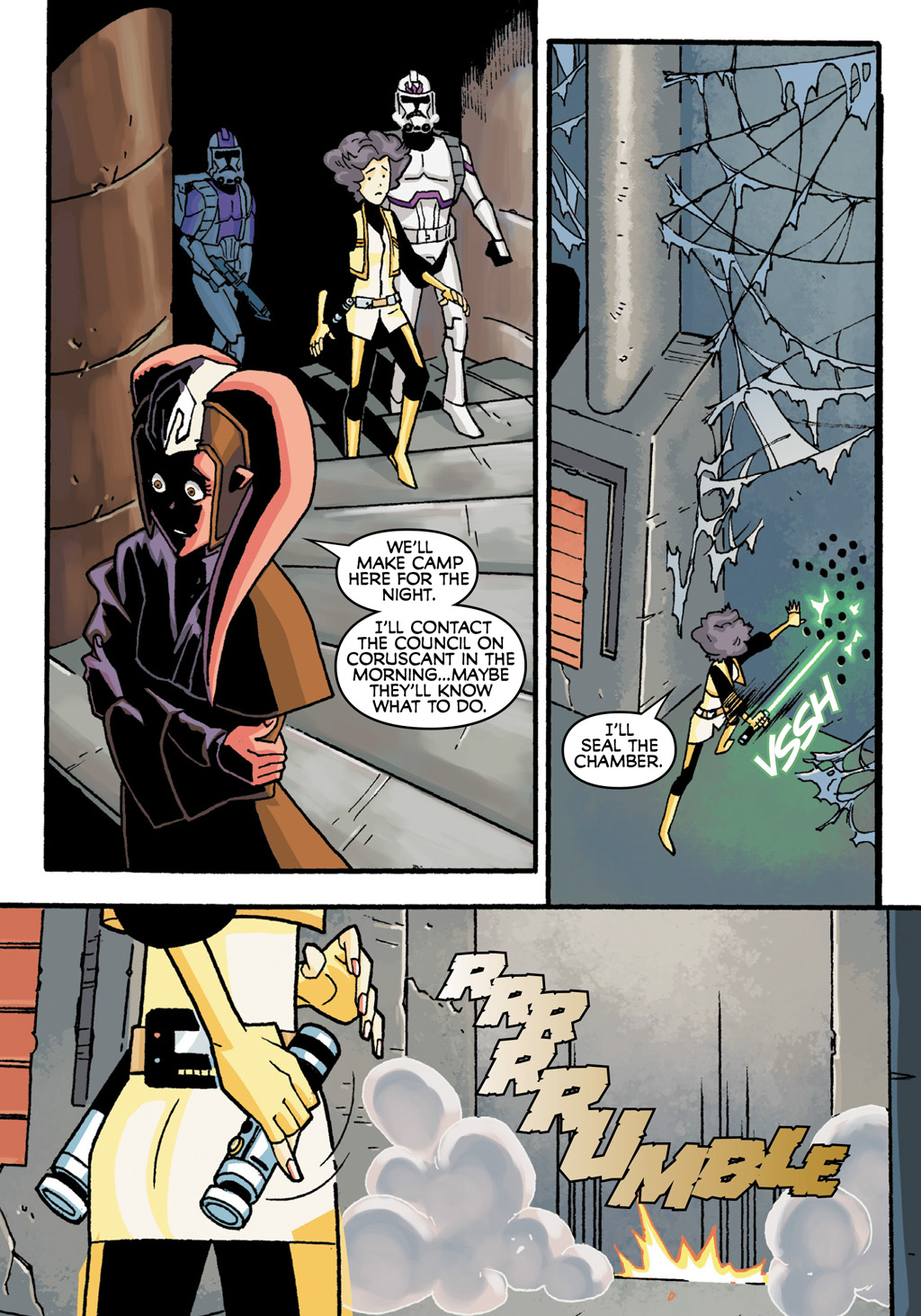 Read online Star Wars: The Clone Wars - Defenders of the Lost Temple comic -  Issue # Full - 40